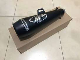 M4 Exhaust Matt Black, Universal fit for all bikes