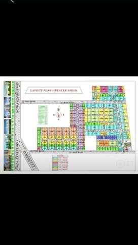 प्लॉट ही प्लॉट सस्ते रेट में ग्रेटर नोएडाRate-3000/पर गज50%पर Registry