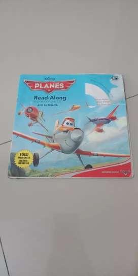 Buku cerita anak plane