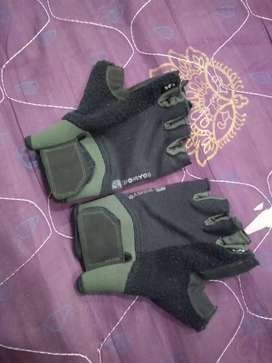 Domyos advance workout gloves