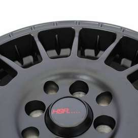 peleg HSR Aarrow JD803 Ring 15x65 H8x100 1143 ET45 Semi Matte Black