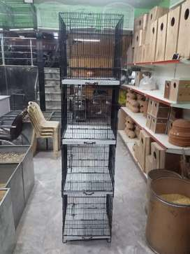 Cages available for sale