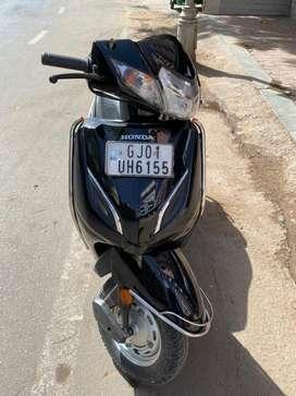 Honda Activa 5g single owner vehicle 2018 model in black color