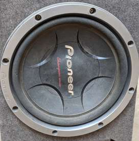 Woofer's with AMP