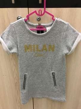 Dress seed milan grey size 2thn import