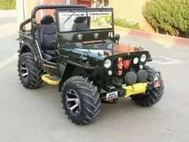 Full modified Jeep ready to All States transfer facilities