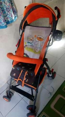 Stroller Pliko Techno