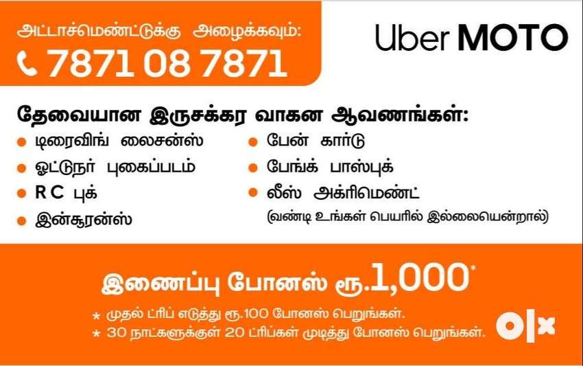 uber moto bike taxi mothly earings rs 35000 0
