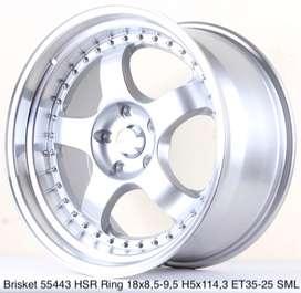 BRISKET 55443 HSR R18X85/95 H5X114,3 ET35 SML
