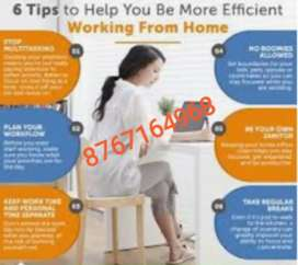 Use your free time I  part time job work and earn alot health income