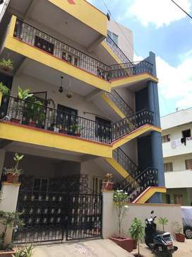 Spacious Ground floor 2bhk for rent ,24hrs water