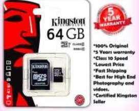 Kingston Memory Card