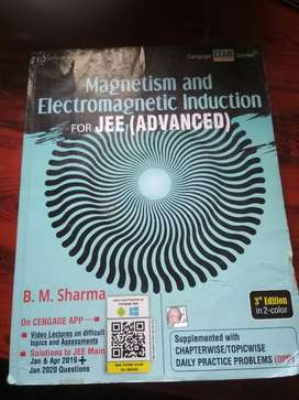 Cengage magnetism and electromagnetic induction by BM sharma