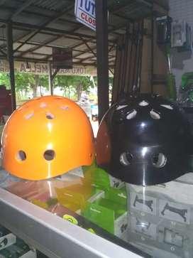 SR Helm Sepeda Warna Orange