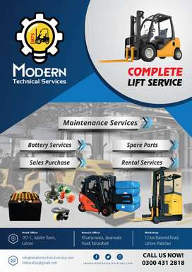 Forklift Services, #electric #OLX forklifts