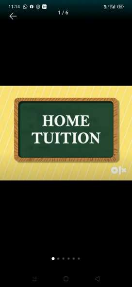 Home tuitiors available for all grade students