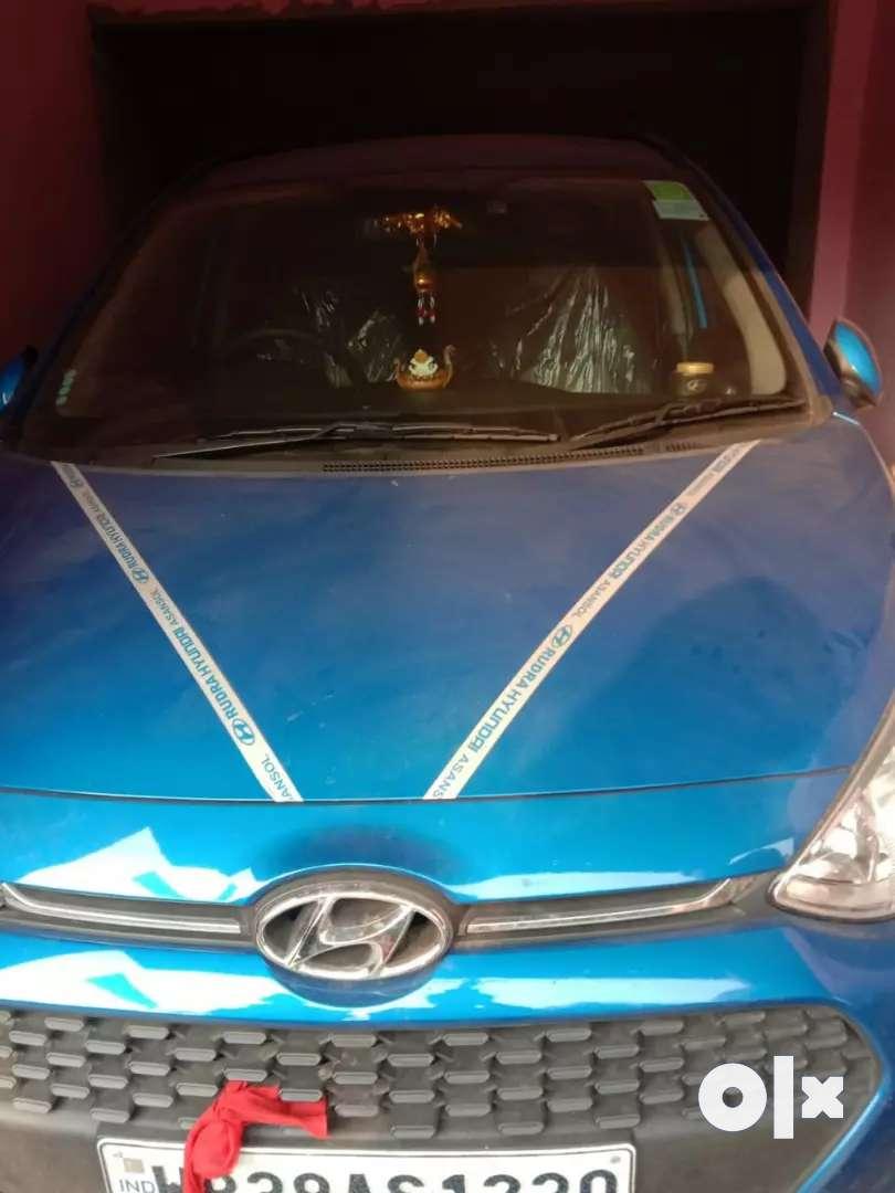 grand i10 sportz  model.blue colour 0