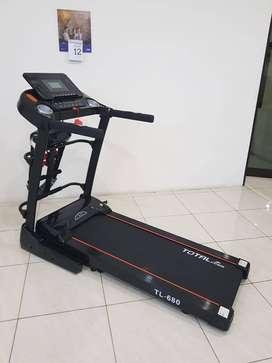 Treadmill Elektik incline otomatis TL 680