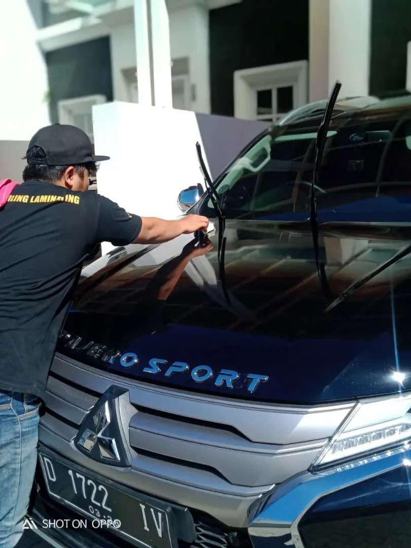 salon mobil detailing nano coating ceramic kaca film dan audio mobil