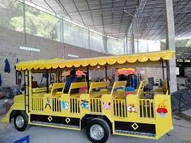 jual mainan odong kereta wisata mandi bola becak VW