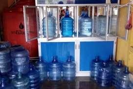 Air Galon R.O air minum isi ulang R.O pengantaran Sudiang dskt.