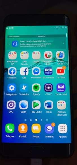 Jual Samsung S6 Edge Plus 4/64 Sein Dual Sim Fullset