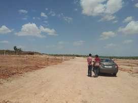 513 Sq yds East Facing Plot at Kandukur Mandal