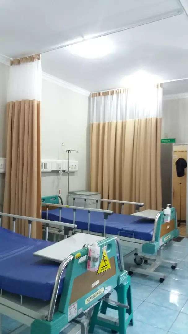 Gorden sekat dan pembatas rumah sakit 0