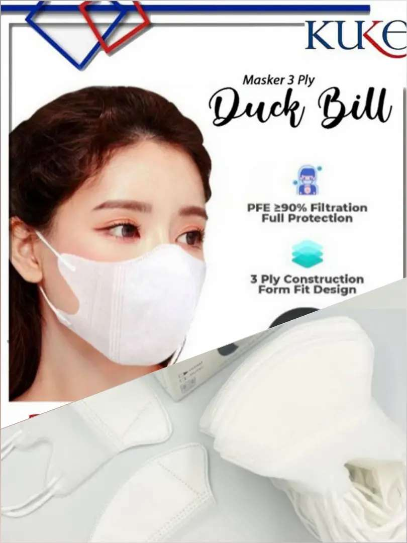 Masker Premium Duckbil KuKe