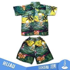 Baju Dan Celana Pantai Anak - Baju Pantai Anak Kecil - Baju Anak Hawai