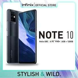 Murah new infinix Note 10 ram 6/128 resmi, bs kredit/bs tt