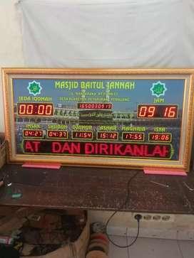 jam masjid digital Jws B2 uk 62x117