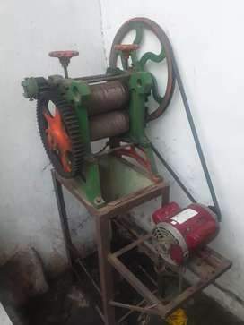 New ganna machine only one month use