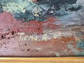 Lukisan kuno 20th lebih