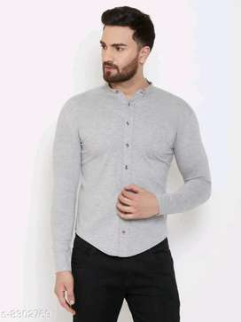 Men's solid Full sleeves shirts.