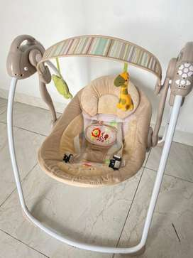 Bouncer Baby Elle Automatic Swing Preloved/ Ayunan Otomatis