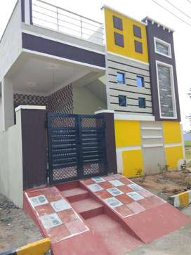 East facing 2 bhk independent proposed house available 2km from ECIL