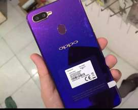 OPPO F9 (purple shades) Rs. 33000/=