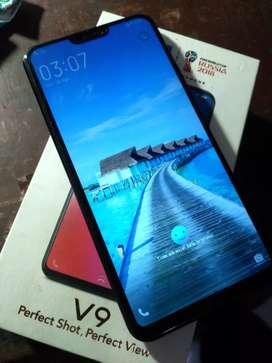 Vivo v9 rAm 4/64Gb. Fullset. Bonus headset & softcase