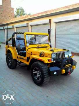 Jeeps only modified