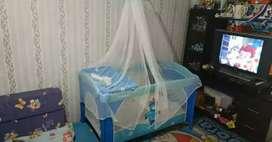 Box bayi tempat tidur bayi nyaman bersih bisa ayunan ada mainan bunyi