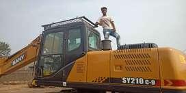 210 सनी मशीन चलवाना है, रेंट में किसी कंपनी में।