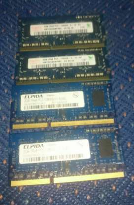 Ram sodim ddr3 pc3 2gb original copotan macbook pro
