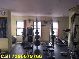 Rental Income 1800 sft Well Running GYM at Narayanguda