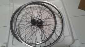 Jual wheelset sepeda lipat 20 inch
