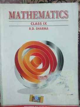 Rd Sharma class 9