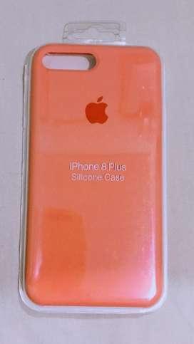 Case iphone 7 plus warna peach