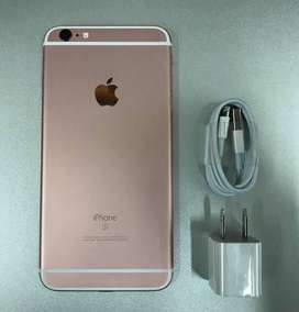 Iphone 6 64gb  gold colour set charger & box no any fault ok set