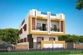 3bhk Raw House for sale- Godhani road*Koradi road.