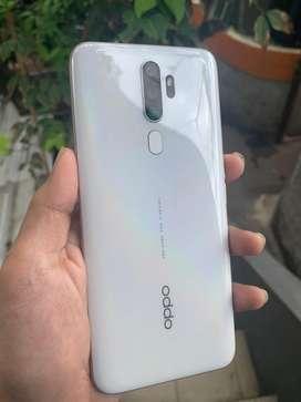 dijual cpt bsa tt Oppo A5 2020 128GB 4 kamera fullset ori bru 2bln pke